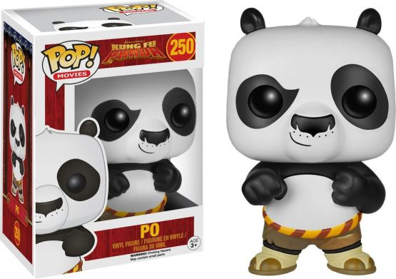 Funko Pop! - Movies - #250 - Kung Fu Panda - Po (flocked)