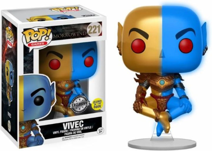 Funko Pop! - Games - #221 - The Elder Scrolls Online: Morrowind - Vivec (glow in the dark)