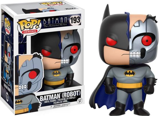 Funko Pop! - Heroes (DC Comics) - #193 - Batman: The Animated Series - Batman (robot) (Chase 1/6)