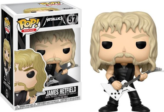 Funko Pop! - Rocks - #057 - Metallica - James Hetfield