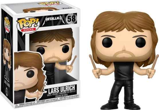 Funko Pop! - Rocks - #058 - Metallica - Lars Ulrich