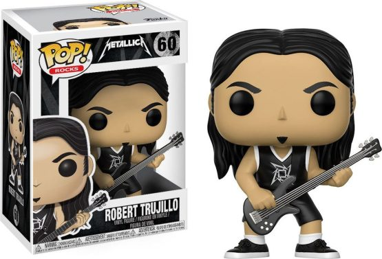 Funko Pop! - Rocks - #060 - Metallica - Robert Trujillo