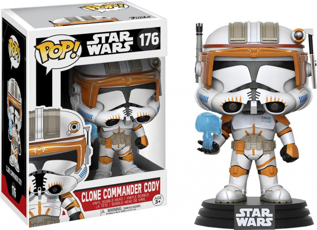Funko Pop Star Wars 176 Clone Commander Cody
