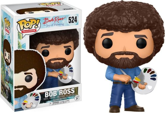 Funko Pop! - Television - #524 - The Joy of Painting - Bob Ross