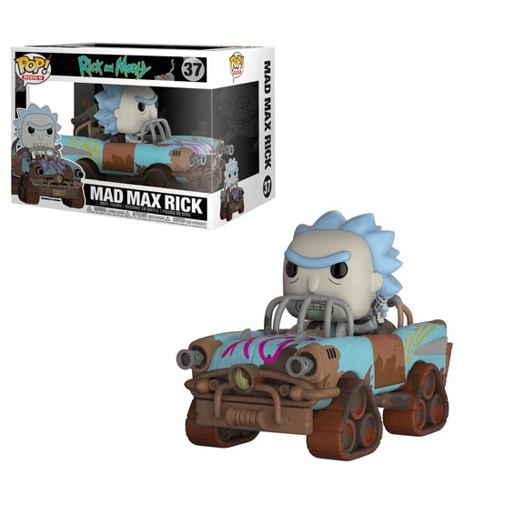 #037 - Rick and Morty - Mad Max Rick | Popito.fr
