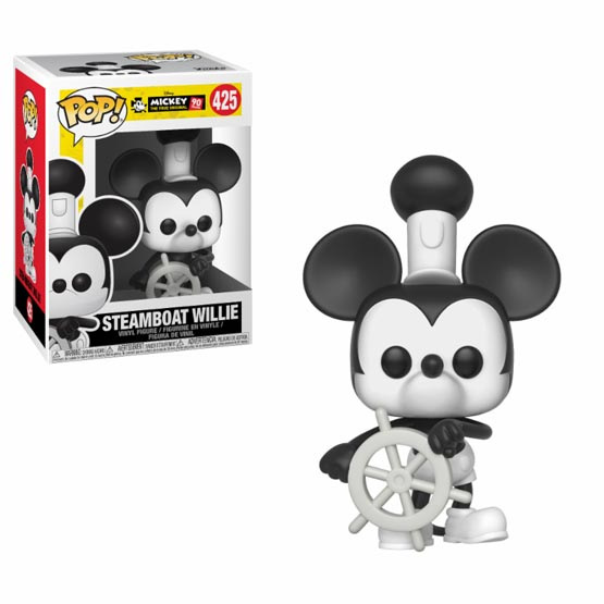 #425 - Mickey 90th Anniversary - Steamboat Willie | Popito.fr