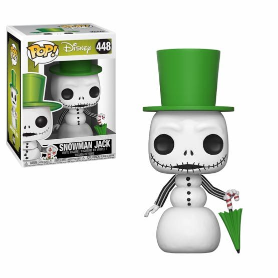 #448 - The Nightmare Before Christmas - Snowman Jack | Popito.fr