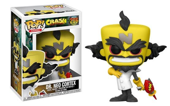 #276 - Crash Bandicoot - Dr. Neo Cortex | Popito.fr