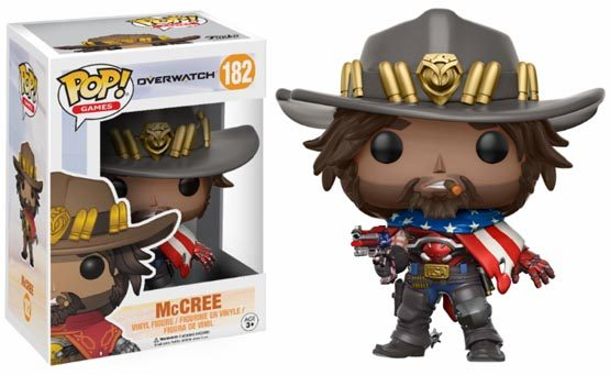 #182 - Overwatch - McCree (USA) | Popito.fr