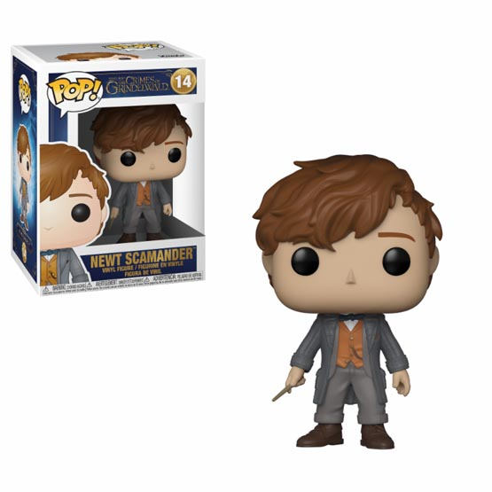 #014 - Fantastic Beasts and Where to Find Them 2 - Newt Scamander (Chase 1/6) | Popito.fr