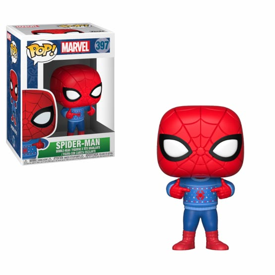 #397 - Spider-Man (Christmas) | Popito.fr