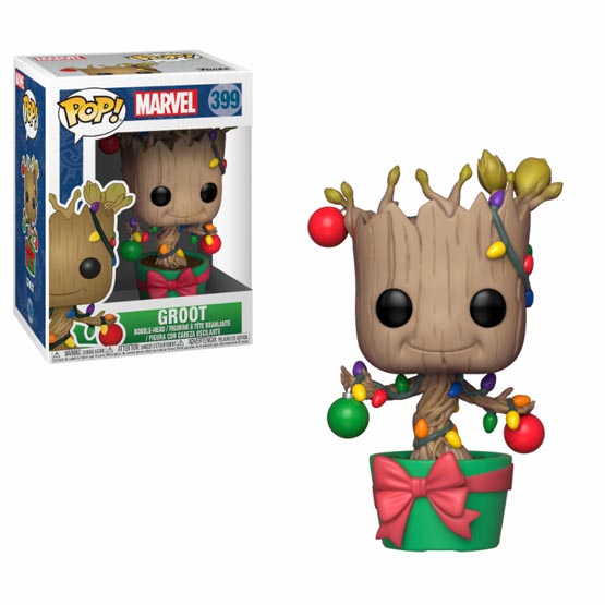 #399 - Groot (Christmas)   Popito.fr