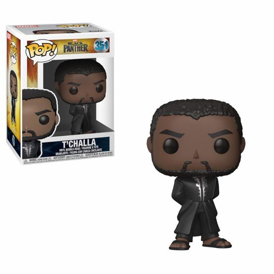 #351 - Black Panther - T'challa (black robe) | Popito.fr