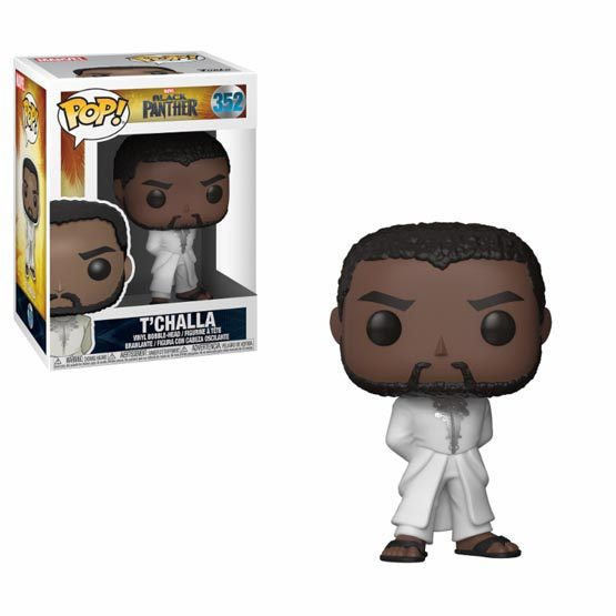 #352 - Black Panther - T'challa (white robe) | Popito.fr