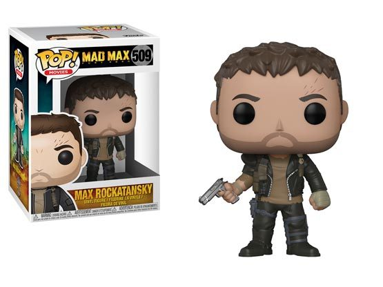 #509 - Mad Max: Fury Road - Max Rockatansky | Popito.fr