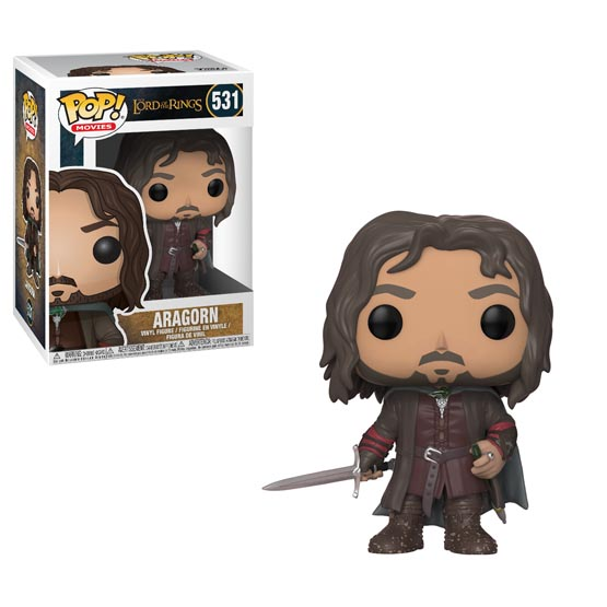#531 - The Lord of the Rings - Aragorn | Popito.fr