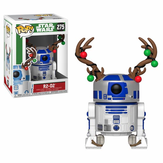 #275 - R2-D2 (Christmas) | Popito.fr