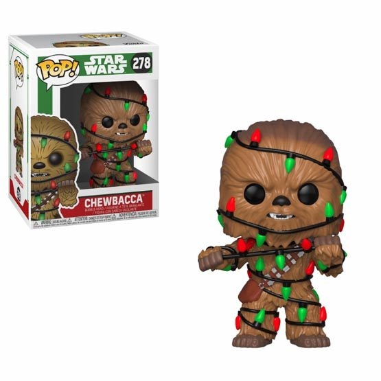 #278 - Chewbacca (Christmas) | Popito.fr