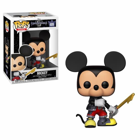 #489 - Kingdom Hearts 3 - Mickey | Popito.fr