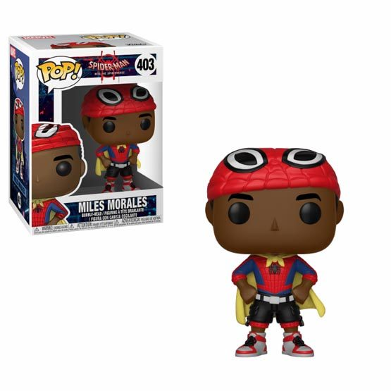 #403 - Spider-Man: Into the Spider-Verse - Miles Morales (cape) | Popito.fr