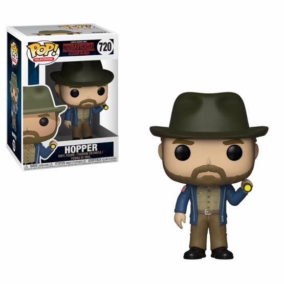 #720 - Stranger Things - Hopper with flashlight | Popito.fr