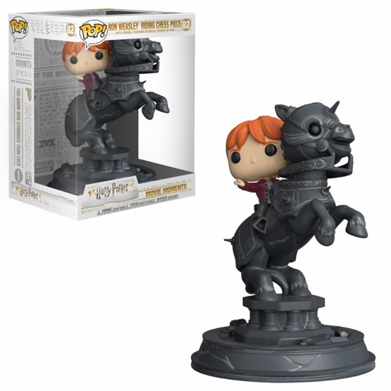 #082 - Ron Weasley ridding chess piece | Popito.fr