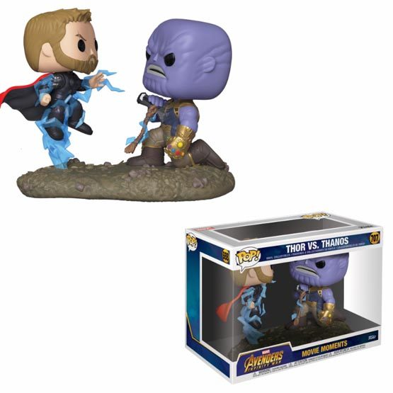 #707 - Avengers: Infinity War - Thor vs. Thanos | Popito.fr
