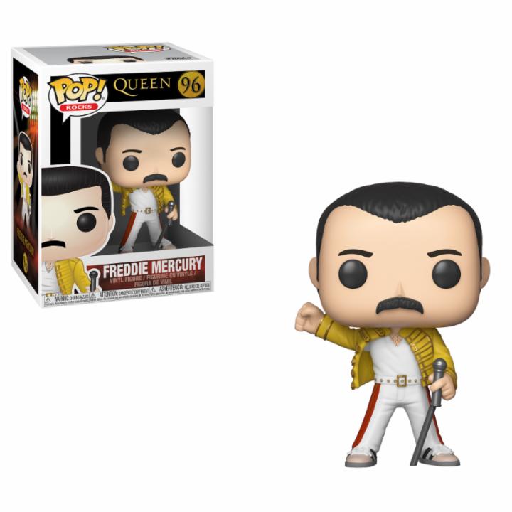 #096 - Queen - Freddie Mercury (Wembley 1986) | Popito.fr
