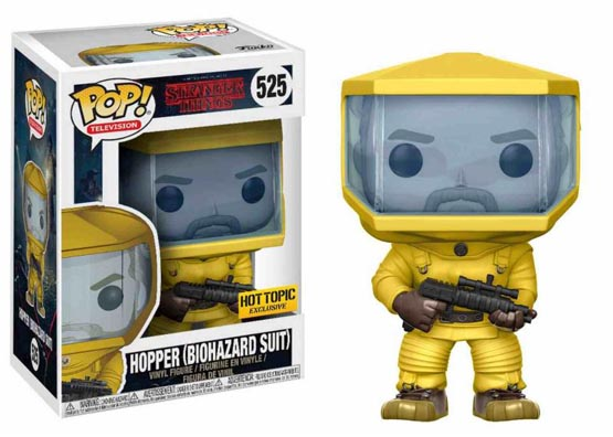#525 - Stranger Things - Hopper (biohazard suit) | Popito.fr