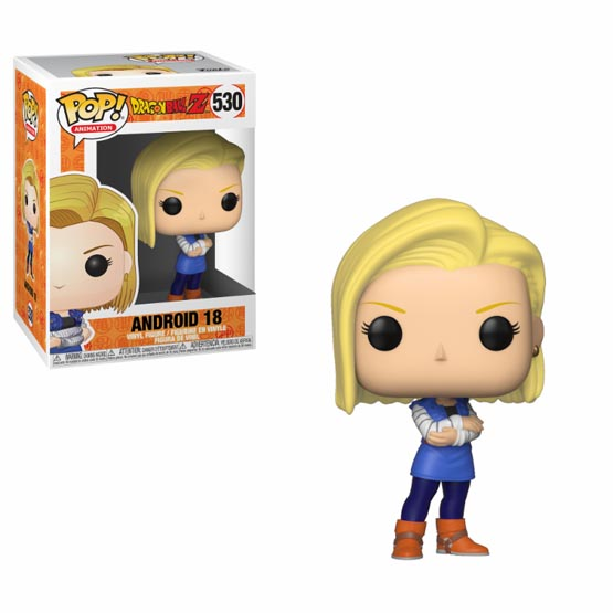 #530 - Dragon Ball Z - Android 18 | Popito.fr