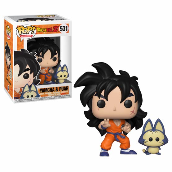 #531 - Dragon Ball Z - Yamcha and Puar | Popito.fr