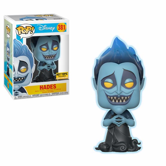 #381 - Hercules - Hades (glow in the dark) (Chase 1/6) | Popito.fr