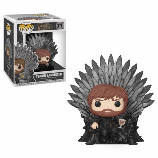 #071 - Tyrion Lannister on Iron Throne | Popito.fr