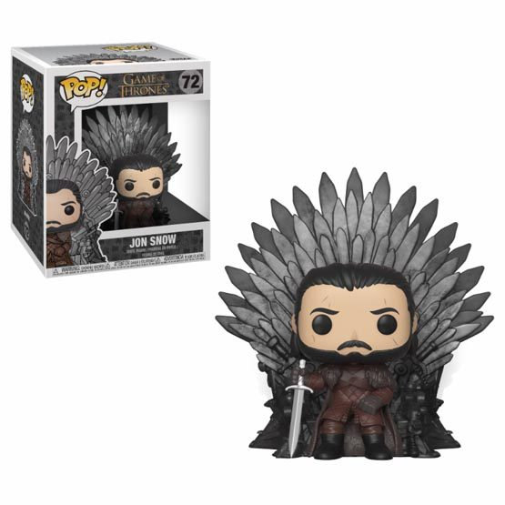 #072 - Jon Snow on Iron Throne | Popito.fr