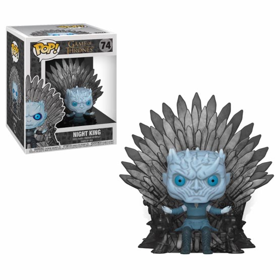 #074 - Night King on Iron Throne | Popito.fr
