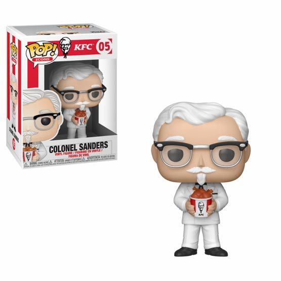 #005 - Icons - KFC - Colonel Sanders | Popito.fr