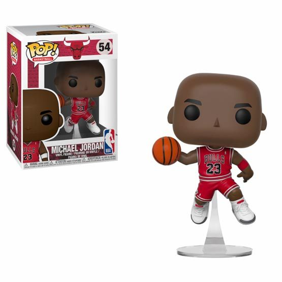 #054 - NBA - Chicago Bulls - Michael Jordan | Popito.fr