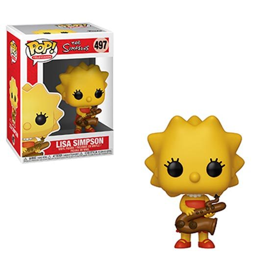 #497 - The Simpsons - Lisa Simpson | Popito.fr