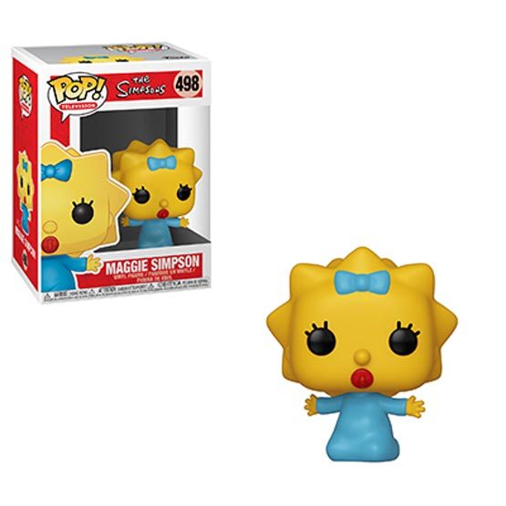 #498 - The Simpsons - Maggie Simpson | Popito.fr