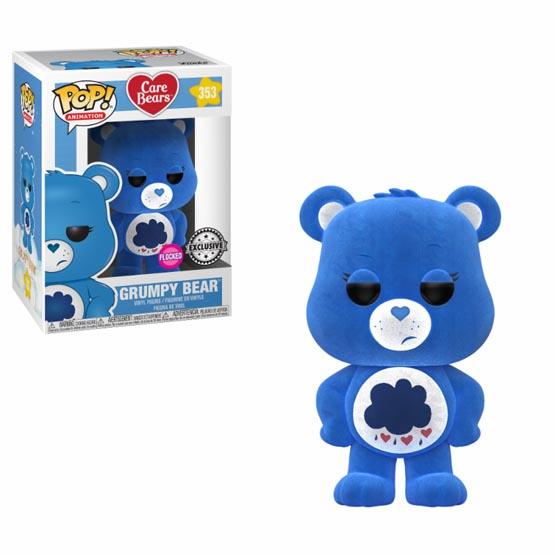 #353 - Care Bears - Grumpy Bear (flocked) | Popito.fr