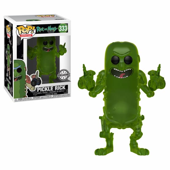 #333 - Rick and Morty - Pickle Rick (translucent) | Popito.fr