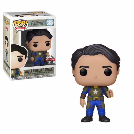 #385 - Fallout - Vault Dweller Male (with Mentats) | Popito.fr