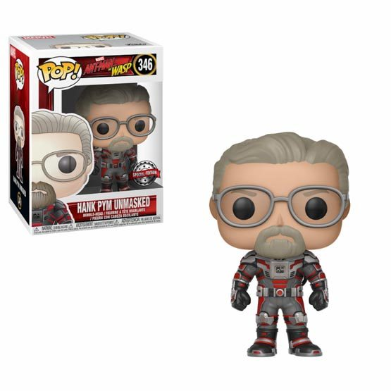 #346 - Ant-Man and the Wasp - Hank Pym (unmasked) | Popito.fr