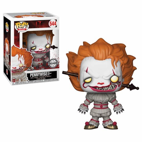 #544 - It - Pennywise with wrought iron | Popito.fr