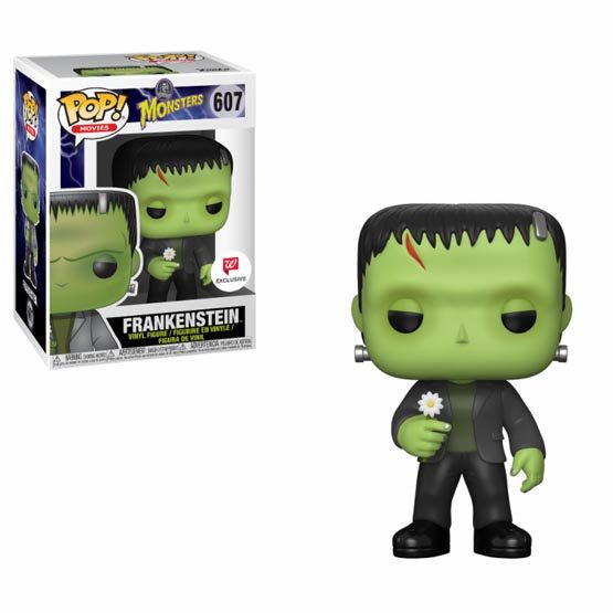 #607 - Monsters - Frankenstein with flower | Popito.fr