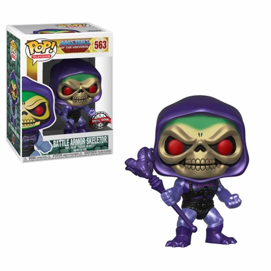 #563 - Masters of the Universe - Battle Armor Skeletor (metallic) | Popito.fr