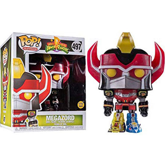 #497 - Mighty Morphin Power Rangers - Megazord (glow in the dark) | Popito.fr