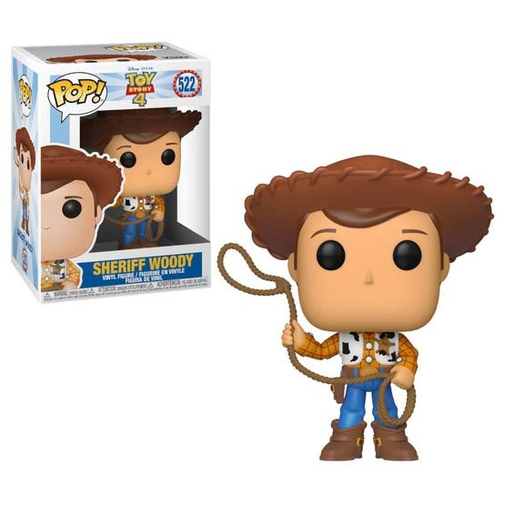 #522 - Toy Story 4 - Sheriff Woody | Popito.fr