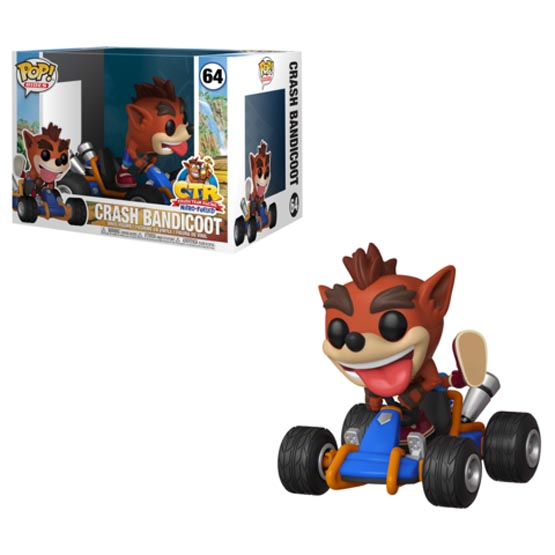 #064 - Crash Team Racing: Nitro-Fueled - Crash Bandicoot | Popito.fr