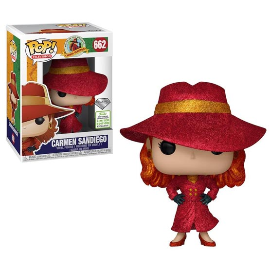#662 - Where in the World is Carmen Sandiego? - Carmen Sandiego (diamond) | Popito.fr